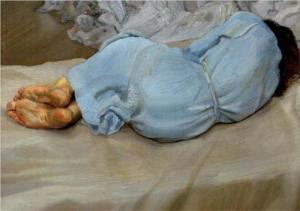 Lucien Freud, Annabel Sleeping, 1988